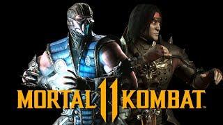 MORTAL KOMBAT 11 - Sub Zero & Liu Kang CONFIRMADOS! + TALVEZ Johnny Cage pelo dublador!
