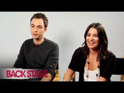 Back Stage speaks with actors Lea Michele ('Glee') and Jim Parsons ('The Big Bang Theory') about their audition experiences, and their starring roles on two ...