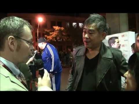 Ryuhei Kitamura America Olivo & Brodus Clay Talk NO ONE LIVES [Film] at World Premiere