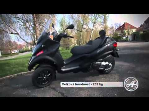 Test Piaggio MP3 500