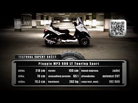 Test Piaggio MP3 500