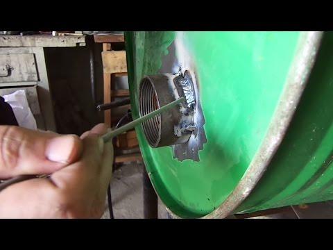 Сварка тонкого металла. Как приварить толстое к тонкому, 1мм.