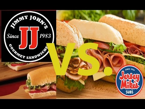 subway vs jimmy johns essay The jimmy john's menu is streamlined and refined to make it as easy as possible for the employees to make your sub and send you on your merry way as quickly as possible  jimmy john's menu: unhealthiest subs august 4, 2016 by dan myers  jimmy john's jj gargantuan vegetarians guide to subway vs jimmy john's jimmy john's pulls.