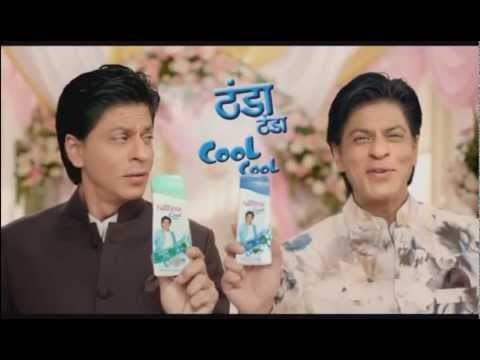 Shahrukh Khan in Latest Navratna Cool Talc AD