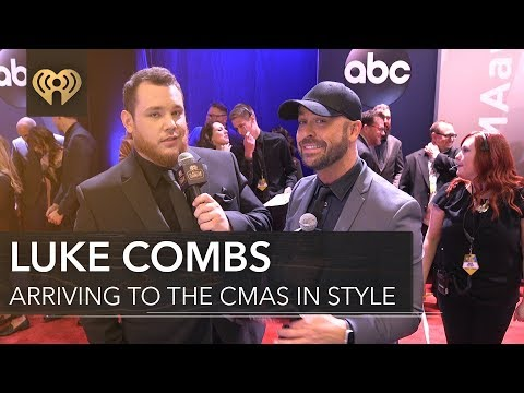 Luke Combs New Artist of the Year Interview   CMA Red Carpet Interview