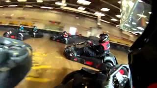 Samuel Bland Go Karting at TeamSport Bristol