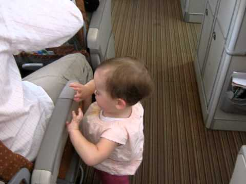 Inside Singapore Airlines Airbus A380 (Economy Class)