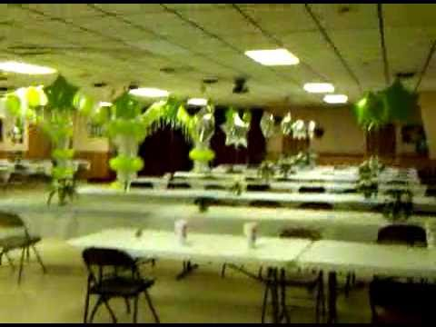 Decoracion de quincea era salon moose asheville nc youtube - Decoraciones para salones ...