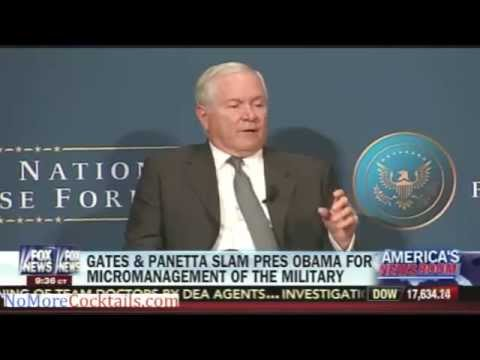 Leon Panetta and Bob Gates slam Obama for micromanagement of the military