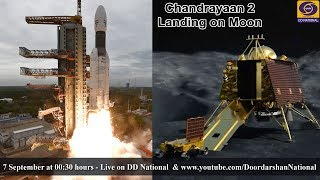 Chandrayaan 2 - Landing on Moon - LIVE from MOX-ISTRAC, Peenya, Bengaluru