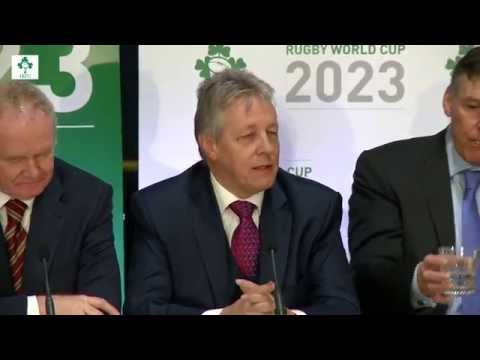 Irish Rugby TV: First Minister Peter Robinson On Ireland RWC 2023
