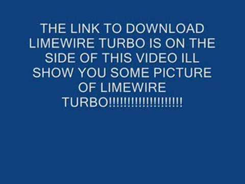 LIMEWIRE TURBO