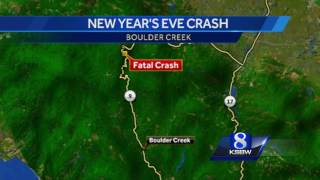 Boulder Creek driver killed in New Year's crash