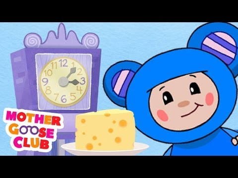 Hickory Dickory Dock - Mother Goose Club Rhymes For Kids video