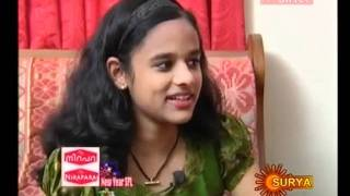 Vellaripravinte Changathi - Vellaripravinte Changathi, Interview with Poornasree on Surya TV in 'Sindooram'