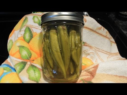 How to Pickle Okra Best Recipe Ever !