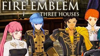 "Fire Emblem: Three Houses - Official ""Welcome to the Golden Deer House"" Reveal Trailer"