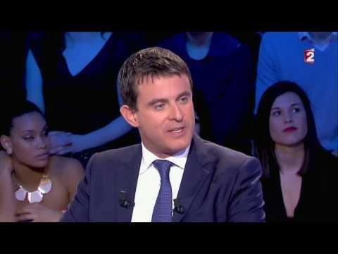 Manuel Valls & les dessins On n'est pas couché 21 décembre 2013 #ONPC