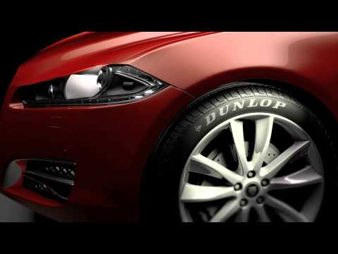 Dunlop Zone  - Win a Jaguar XF