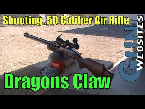 .50 Caliber Air Rifle. Dragons Claw