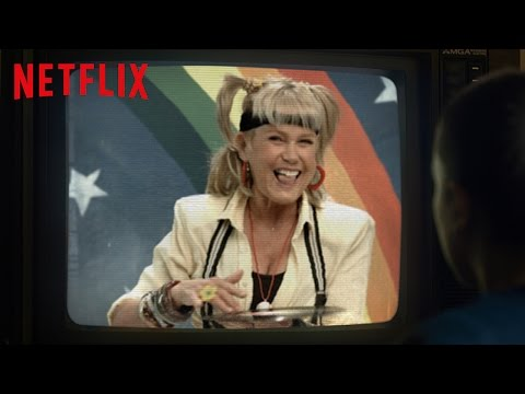 Xuxa promociona Stranger Things como en sus mejores épocas