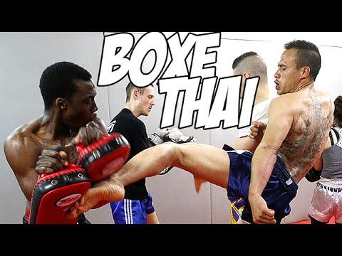 Zeitoun >> Boxe thaïlandaise : Séance d'entraînement au Team André Zeitoun - YouTube