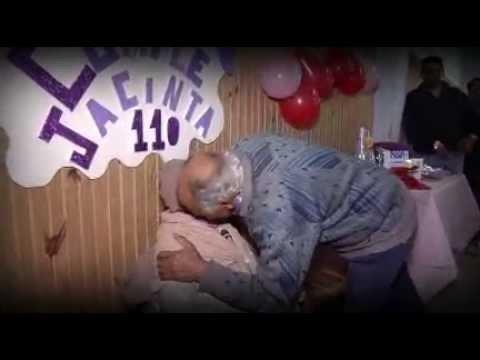 Una de las uruguayas más longevas: Doña Jacinta festejó sus 110 años