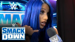 Sasha Banks discusses her new entrance: SmackDown Exclusive, Nov. 8, 2019