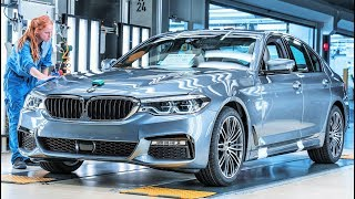 2019 BMW 5 Series Production at BMW Plant Dingolfing