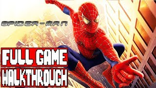 SPIDER-MAN (2002) Full Game Walkthrough - No Commentary