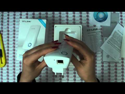 TP LINK TL WiFi Extender - WA850RE / TL-WA854RE initial setup and configuration