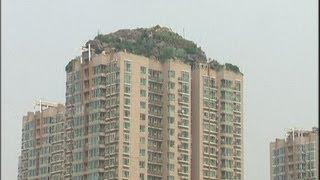 """Biệt thự """"giả sơn"""" trên đỉnh tòa nhà Bắc Kinh sắp bị phá dỡ"""