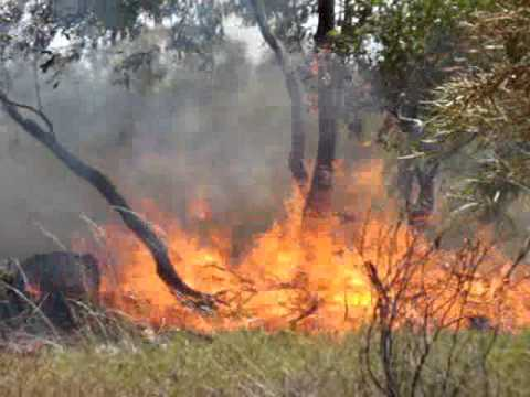 Burning Off - Northern Territory Australia.