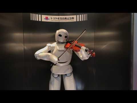 Toyota Robot in Nagoya