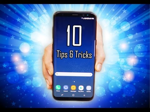 10 Tips and Tricks for the Galaxy S8 / S8 Plus - Handy !