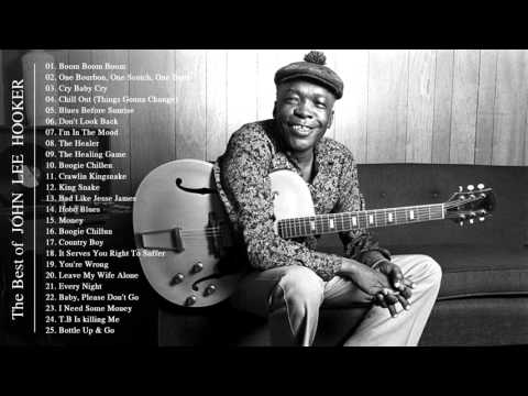 John Lee Hooker - Cool Blues Song He Made Up