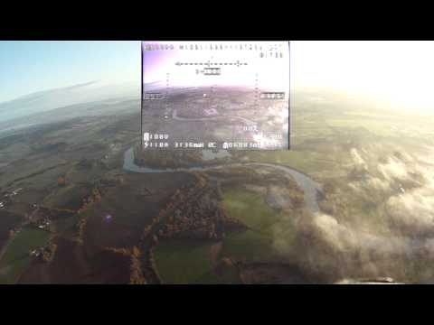 Dragonlink 7km FPV Distance Record with Narrative - Skywalker GoPro