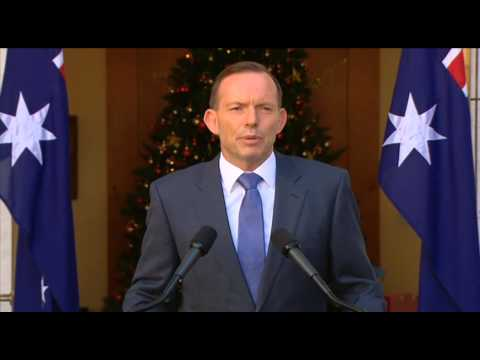 Tony Abbott Press Conference (Dec 1, 2014)
