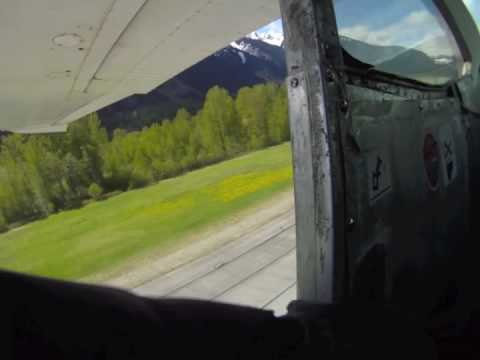 Skydive over Mt Currie