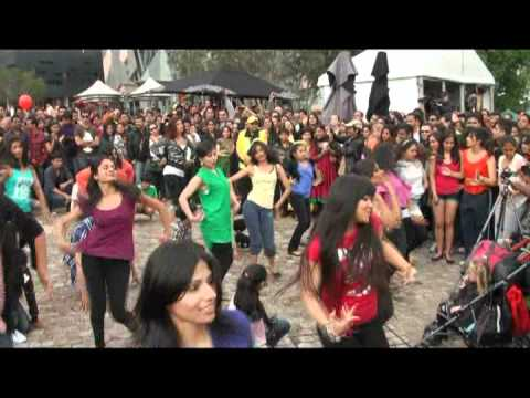 Shiamak Bollywood Flash Mob Melbourne