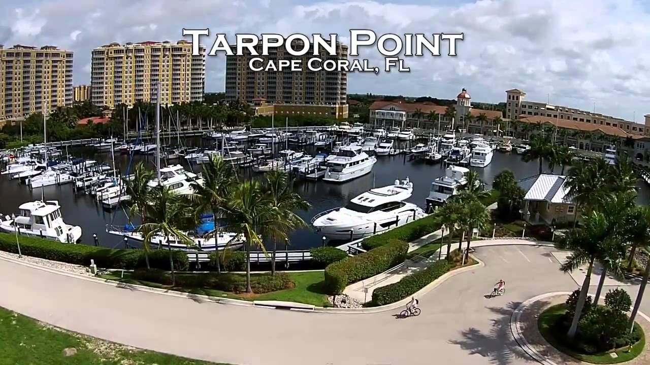 Tarpon point marina wedding