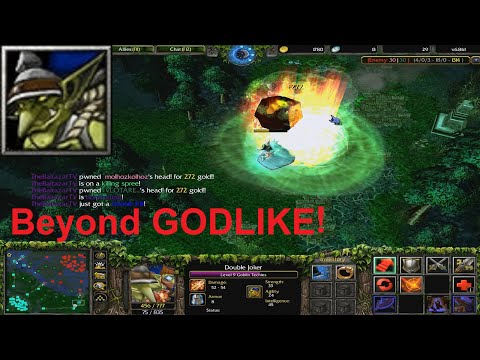 DotA 6.81d - Goblin Techies Beyond GODLIKE !
