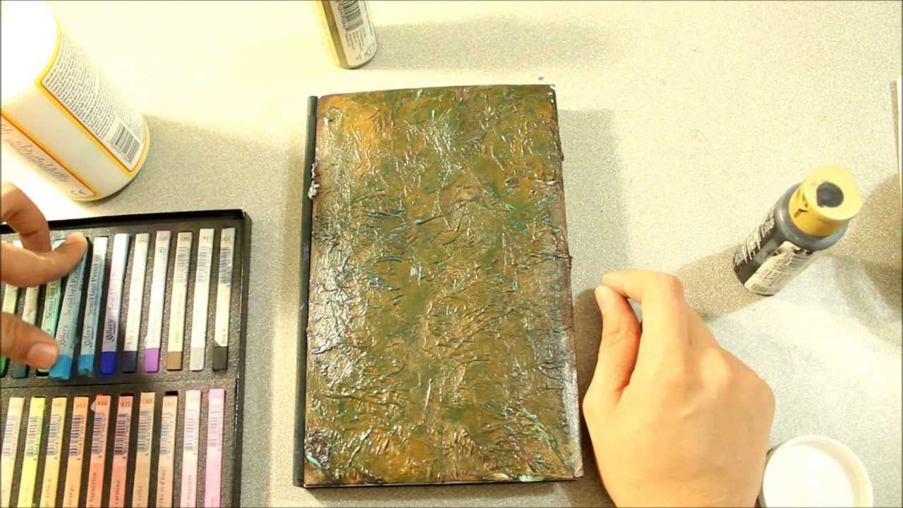 Old Book Cover Crafts : Youtube