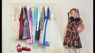Dominika Dresses Up in strange Dresses - Youtube