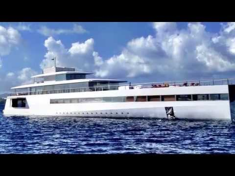 Steve Jobs' yacht captured by Cape innkeeper!