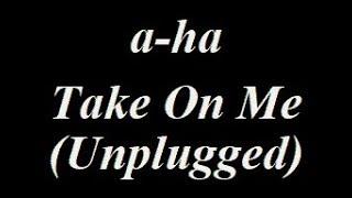 A Ha Take On Me Unplugged Instrumental Track
