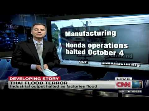 Thailand flooding impacts economy - CNN