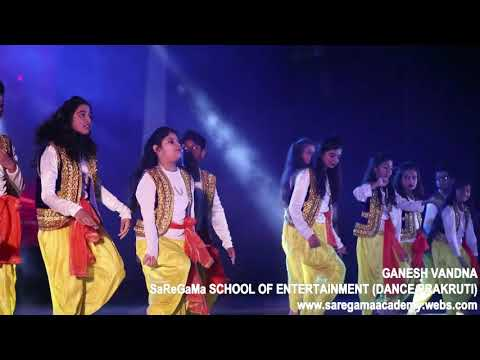 Ganesh Vandna by SaReGaMa's Students (dance prakruti)