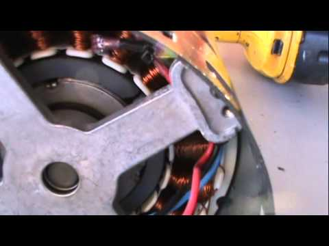 Air Conditioner Blower Motor Converted To Generator