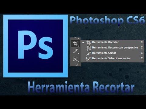 Tutorial Photoshop CS6 [Novedades]- Herramienta Recortar